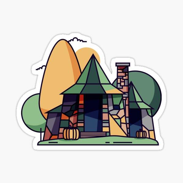 Hagrid's Hut Sticker