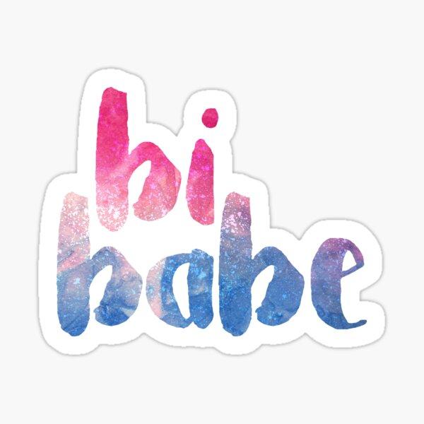 bi babe ♠ Sticker