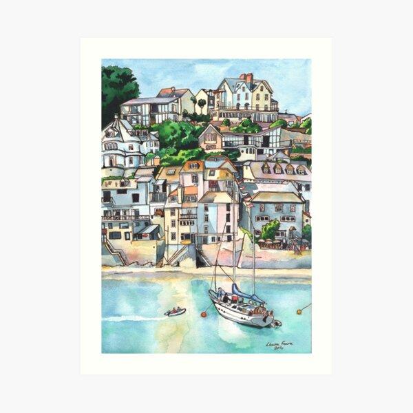 Salcombe, Kingsbridge Estuary, Devon Art Print