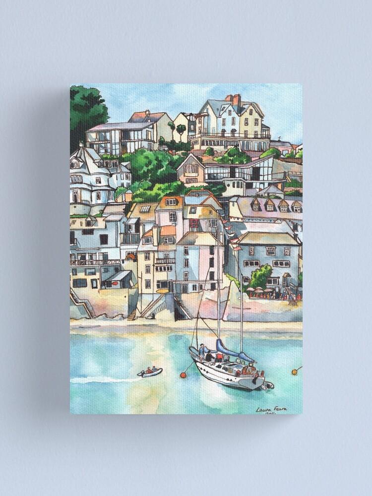 Alternate view of Salcombe, Kingsbridge Estuary, Devon Canvas Print