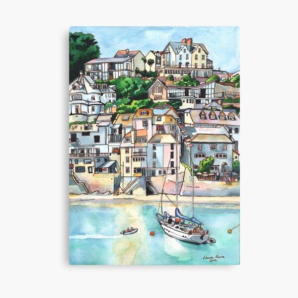 Salcombe, Kingsbridge Estuary, Devon Canvas Print