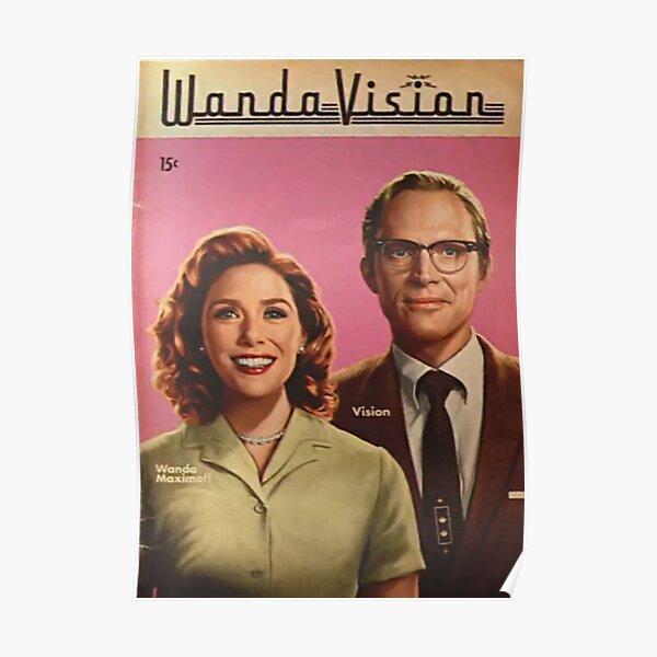 WandaVision Poster Poster