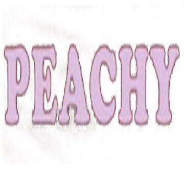 PEACHY by winifredweiss