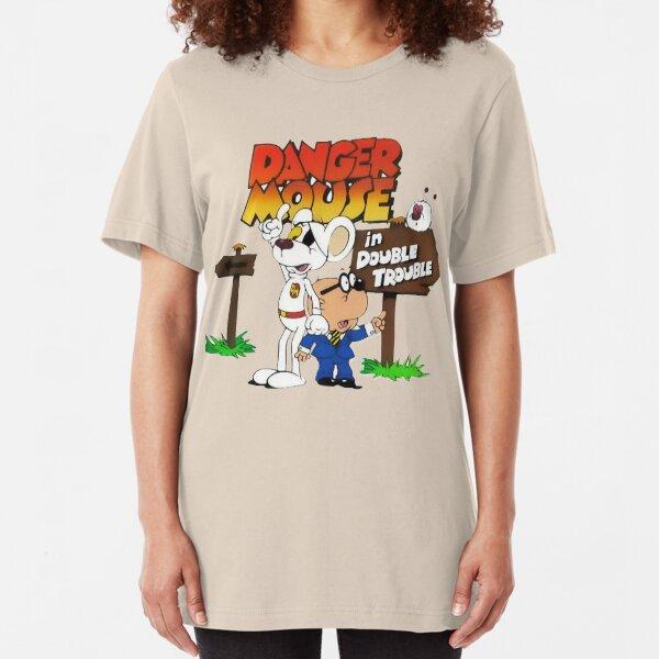 Danger Mouse Retro Japanese Women/'s T-Shirt