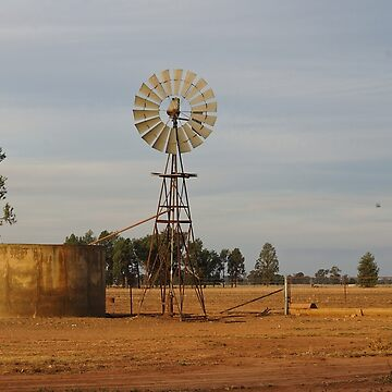 Windmill and tank by ndarby1