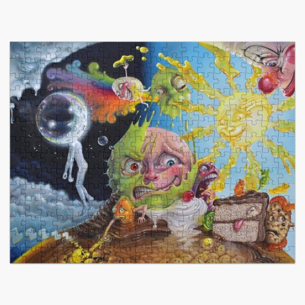 Nighttime Quells the Frisson of Breathing Sunlight Jigsaw Puzzle