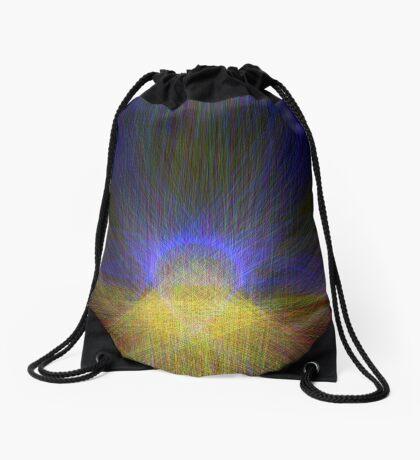 Morning Drawstring Bag