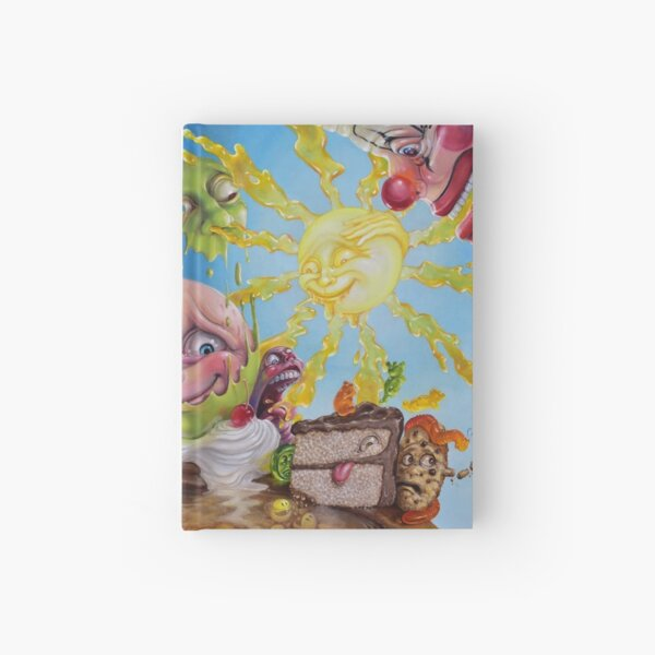 Nighttime Quells the Frisson of Breathing Sunlight Hardcover Journal
