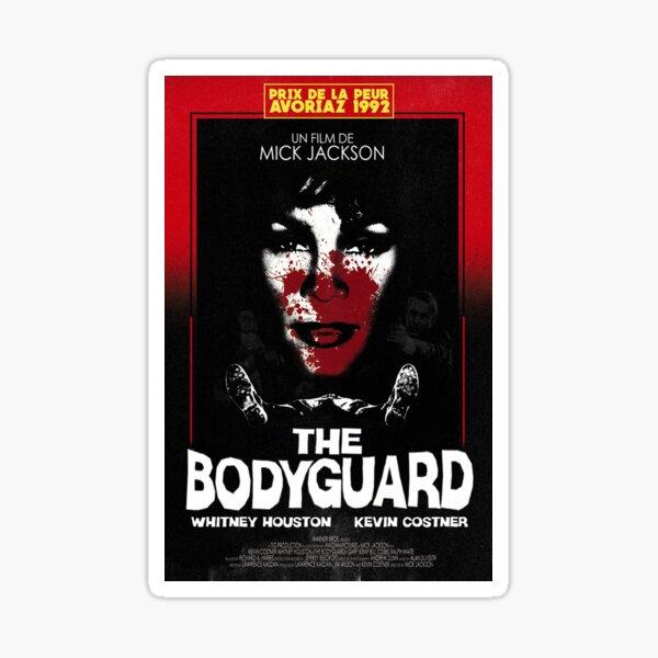 THE BODYGUARD 1992 - GIALLO POSTER Sticker