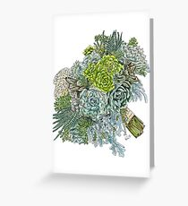 Succulent Obsession Greeting Card