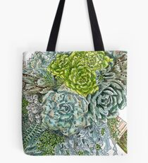 Succulent Obsession Tote Bag
