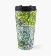 Succulent Obsession Travel Mug
