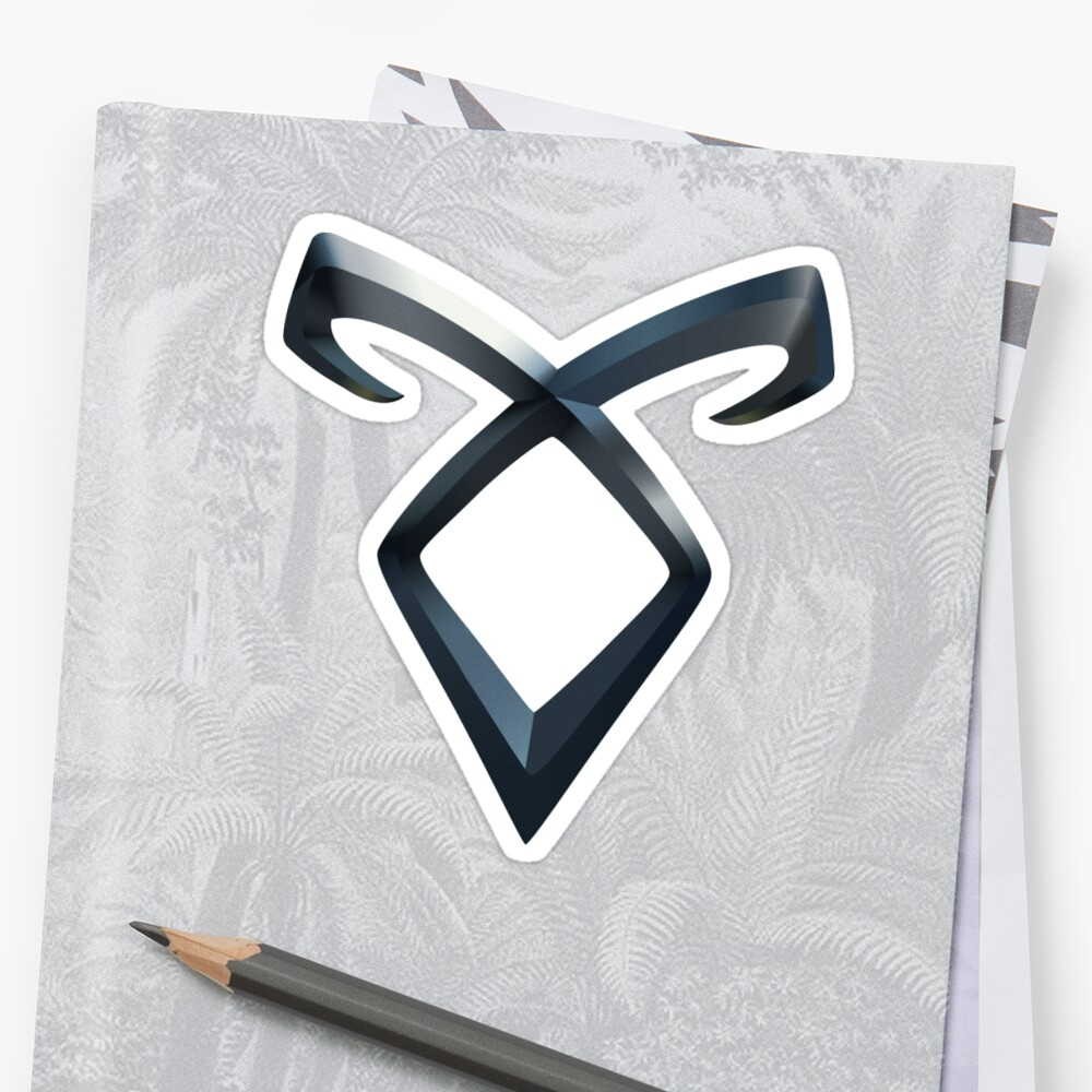 Quot Shadowhunters Angelic Rune Quot Sticker By Jjrenae Redbubble