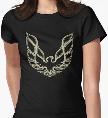 The Bandit's Trans Am Firebird Womens Fitted T-Shirt