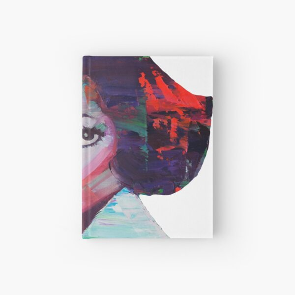 Diana Ross Digital Art Hardcover Journal