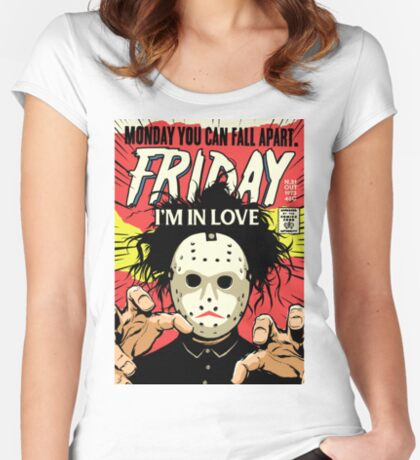 TFTS | Friday Women's Fitted Scoop T-Shirt