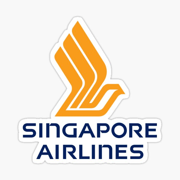 Singapore Airlines official logo  Sticker