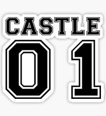 Castle 01 - Varsity Style Sticker