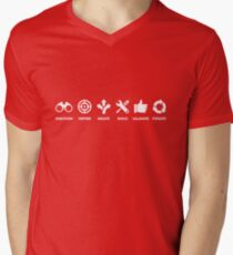 USER CENTRIC DESIGN / THINKING Men's V-Neck T-Shirt