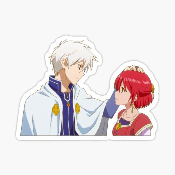 Shirayuki and Zen Sticker