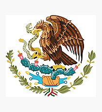Mexico Coat of Arms  Photographic Print