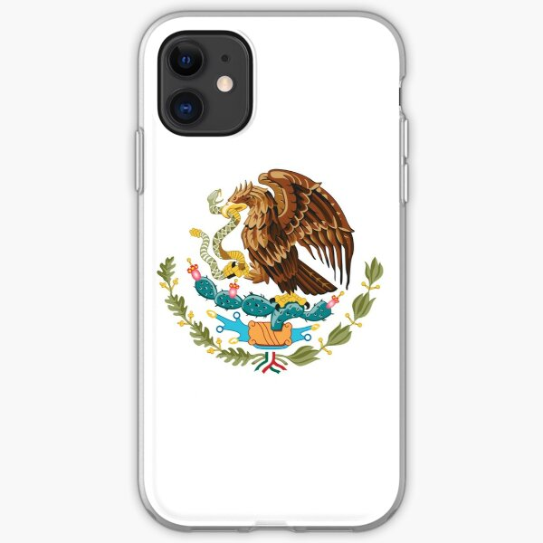 Mexico Coat of Arms iPhone Soft Case
