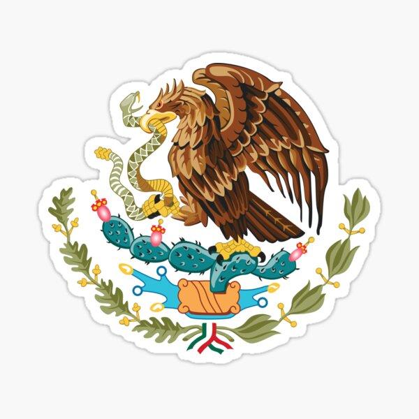 Escudo de armas de México Pegatina