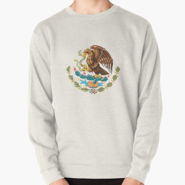 Mexico Coat of Arms Pullover Sweatshirt