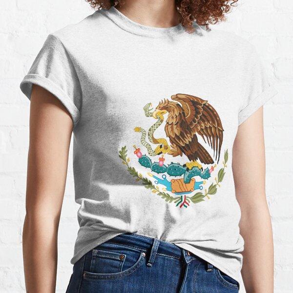 Escudo de armas de México Camiseta clásica