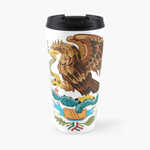 Mexico Coat of Arms Travel Mug