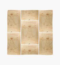 Vitruvian Man - Leonardo da Vinci Scarf