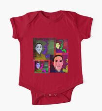 HP LOVECRAFT, AMERICAN GOTHIC WRITER, COLLAGE Kids Clothes