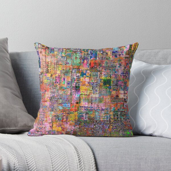 Zeitgeist Multicoloured  Throw Pillow