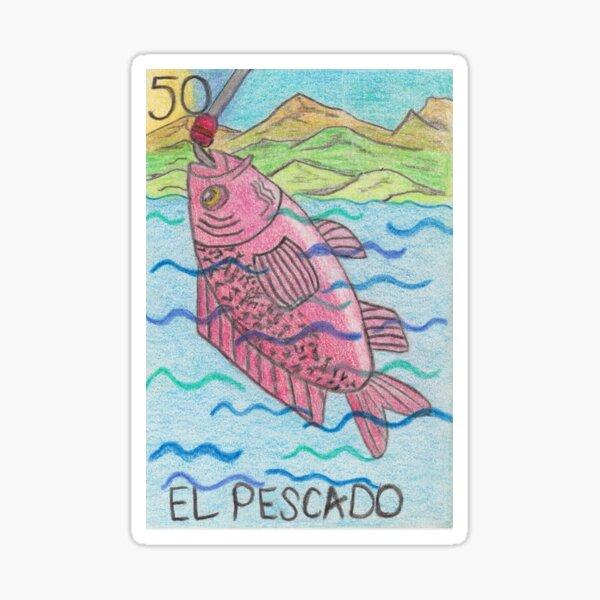 El Pescado  Sticker