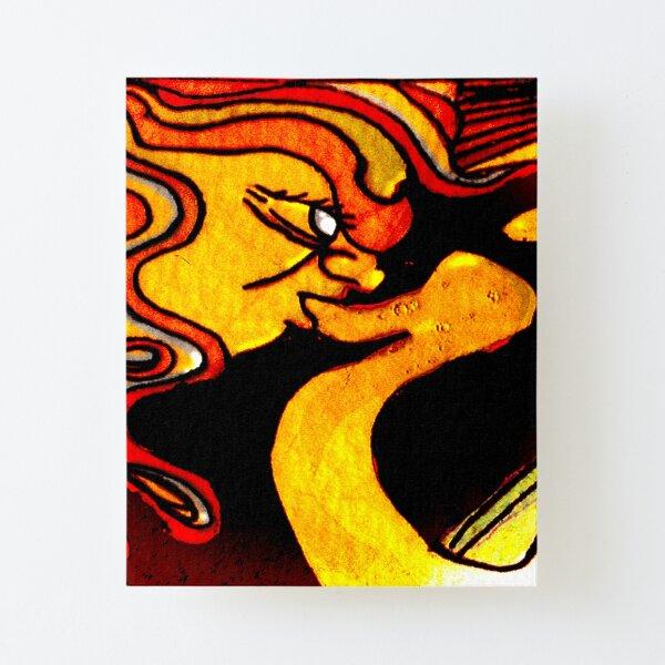 Sun God Smoke Canvas Mounted Print