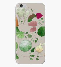 Winter Vegetables iPhone Case