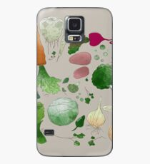Winter Vegetables Case/Skin for Samsung Galaxy