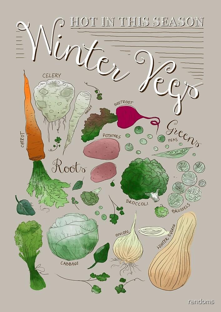 Winter Vegetables by randoms