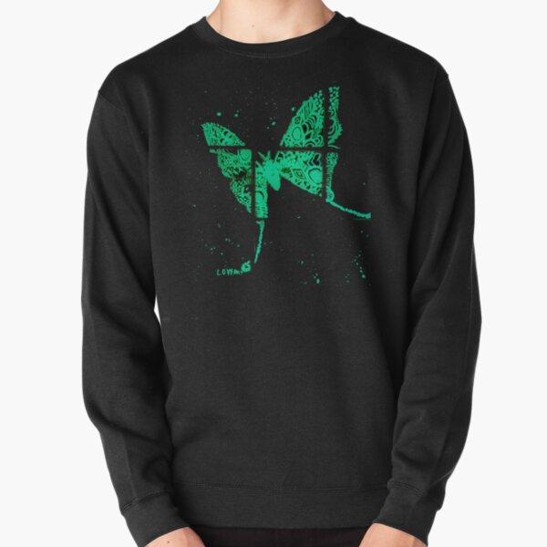 Lunar Moth Pullover Sweatshirt