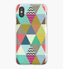 New York Beauty triangles iPhone Case