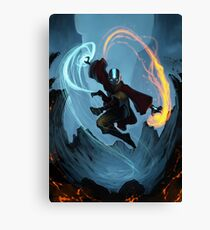 The Last Air Bender  Canvas Print