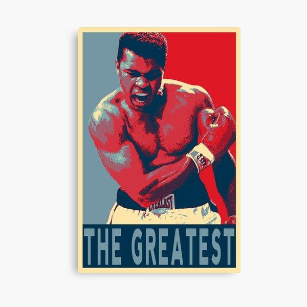 Mohamed Ali The Greatest Impression sur toile