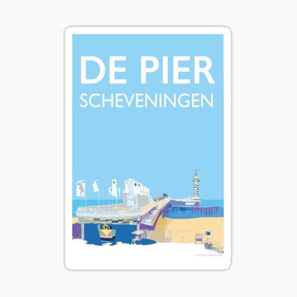De Pier, Scheveningen, Nederland Sticker