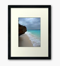 Tropical Sea Framed Print