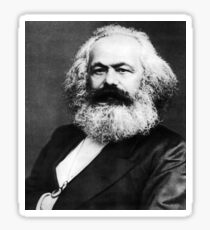 Karl Marx Sticker