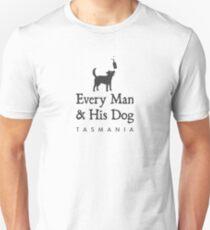 Every Man & His Dog Tasmania Unisex T-Shirt