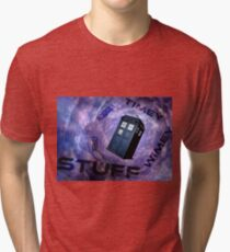 Timey Wimey Stuff Tri-blend T-Shirt
