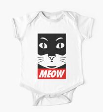 Obey Cat Meow Kids Clothes