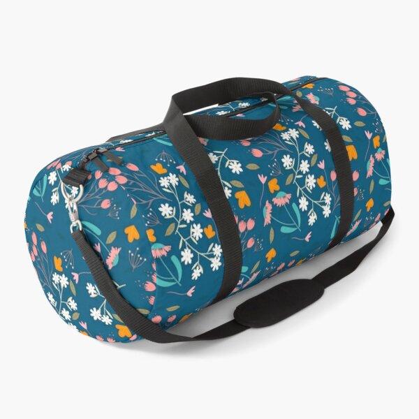 Colorful floral Duffle Bag