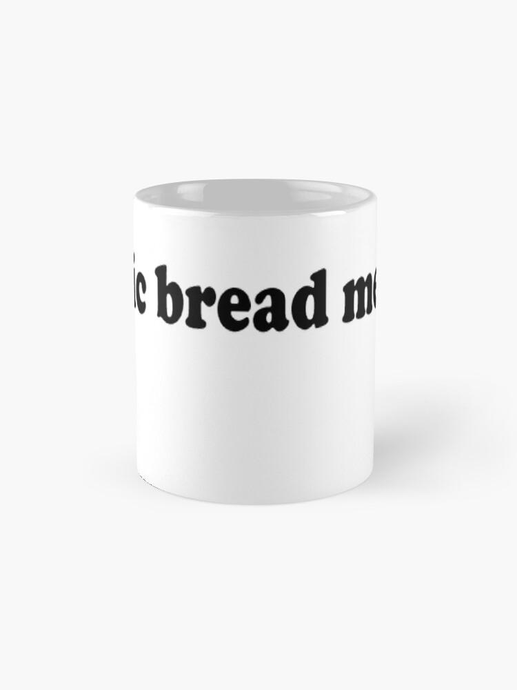 Alternate view of Garlic Bread Memes Mug